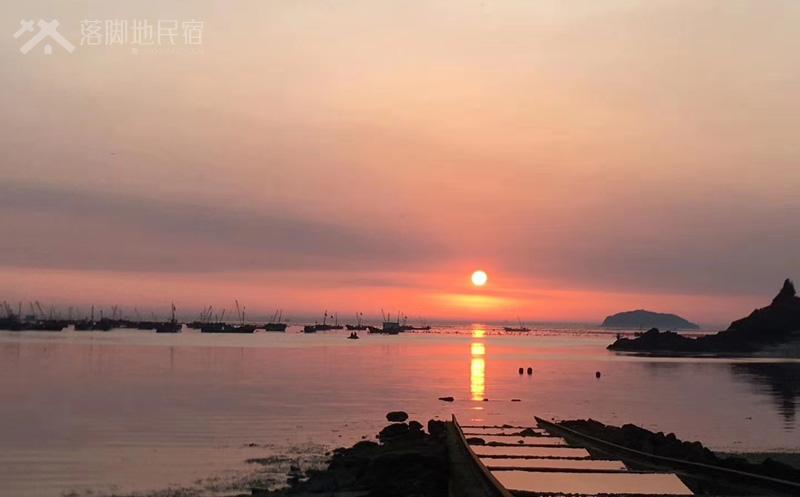 大长山岛日落
